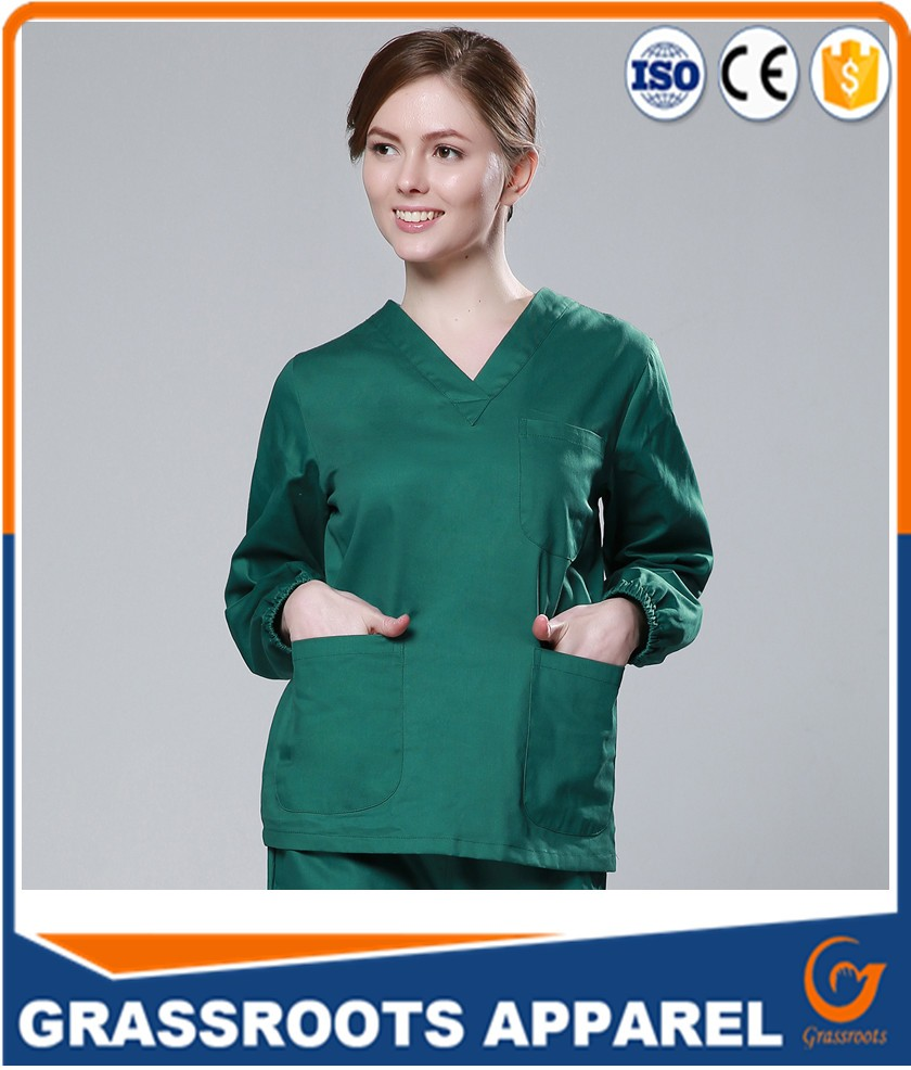 Hospital Medical Fashionable Nurse Uniform Designs