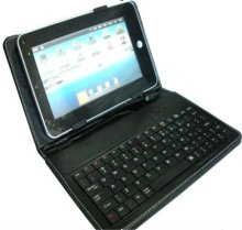 "10'' USB Keyboard Leather Case,10"" wired tablet keyboard"