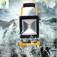 New product on alibaba 20W stand portable led work light led flood light rechargeable