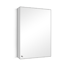 Stainless steel bathroom mirror cabinet