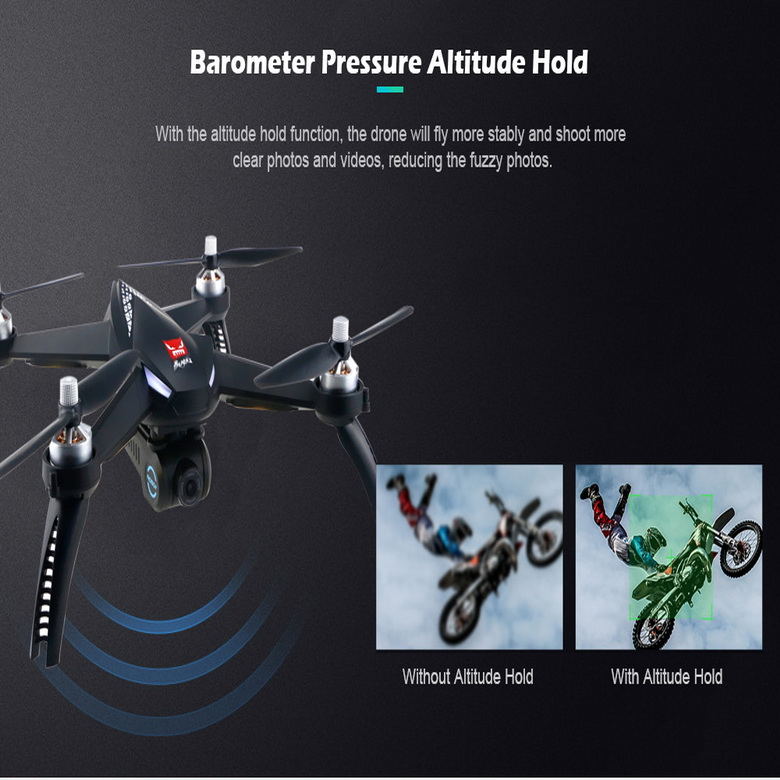 global drone Quadcopter Bugs 5W B5W RC Drone WiFi FPV 1080P Camera Altitude Hold AND One Key Follow RC professional drone