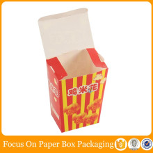 custom cheap packaging recycled popcorn paper box
