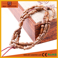 Chicken-wing wood 0.8*0.3*108pcs wooden crafts spiritual diy seed bead bracelet
