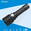 Aluminum Alloy Rechargeable Bright Police Flashlight Torch