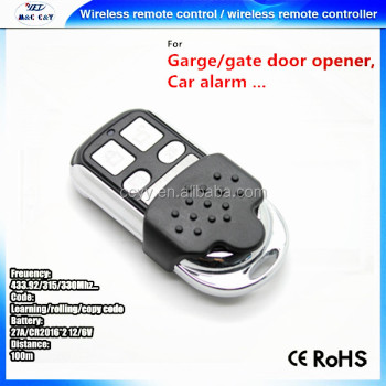 universal learning remote garage door remote control