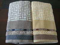 100% cotton custom most absorbent color safe oem towels