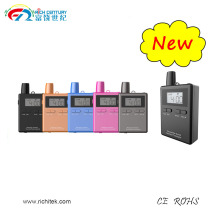 Cheap Prices!! TOP SELLING 2.4G Digital wireless tour guide system/ear-hook receiver