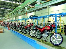 Scooter assembly line