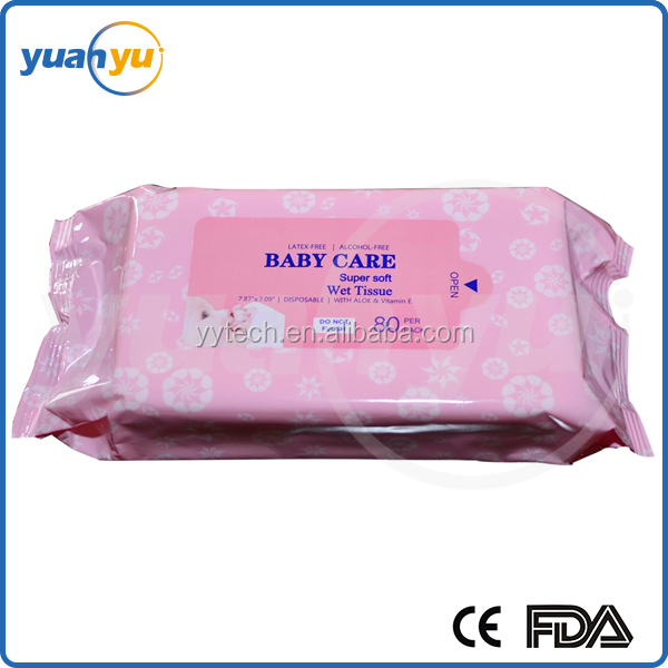 Wholesale best new comfortable soft disposable baby wipe and wet wipe