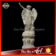 Life-size Outdoor Marble Angel Statue