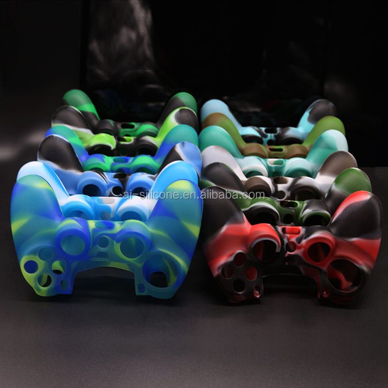 Food grade silicone game controller case for PS4