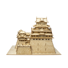Customised Smart Furniture High Quality Manufacturer Himeji Castle Wooden 3D Puzzle
