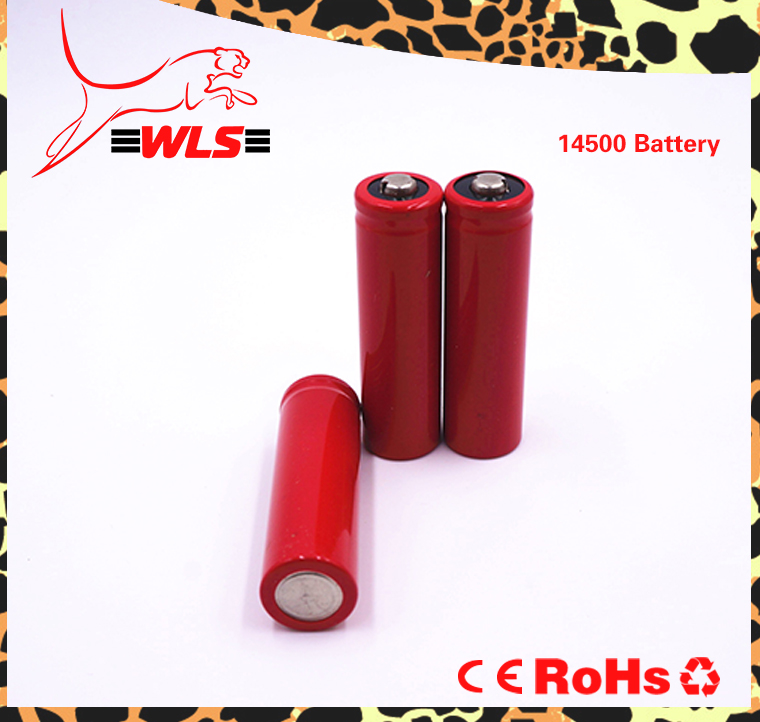 ICR14500 700mAh 3.7v rechargeable battery for power tool icr 14500 li-ion battery