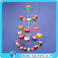 promotion christmas 5 tier cupcake stand for birthday party