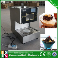 Commercial industrial ice crusher snow cone machine