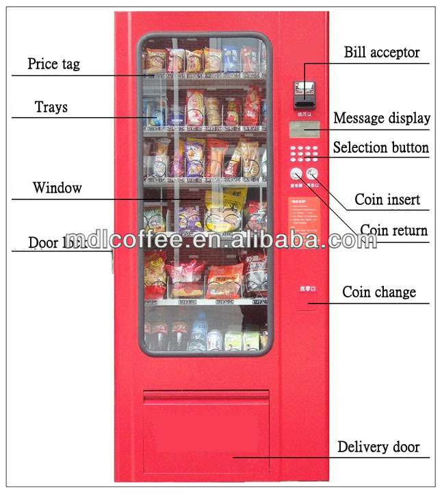 e-product/phone card vending machine with card dispenser LV-205A
