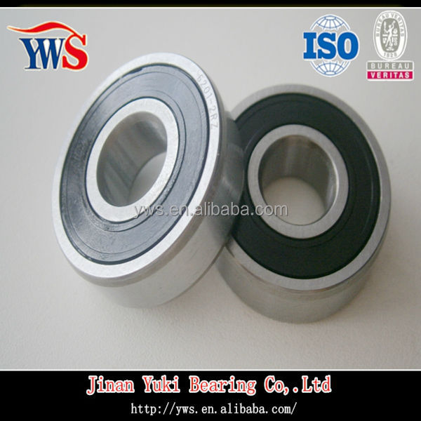 SS6819 japanese metric size ball bearing with rubber seal
