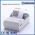 China Hotable 58mm Portable Printer Mobile bluetooth Printer With battery powered