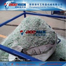 pet bottle flakes recycling production line/pet bottle crushing washing and recycling line