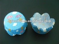 Blue Pikachu Petal Cupcake Liners cases Baking Cups for baby showers