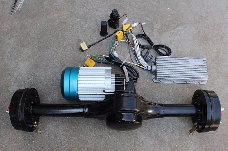1000w 1200w 1500w gear motor rickshaw spare parts / kits e rickshaw motor kit /electric 60v DC motor