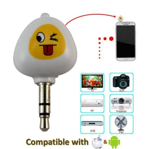 3.5mm Audio Intelligent Mobile Smart Infrared Universal IOS Android Wireless Ir Remote <strong>Control</strong> for Tv Projector Air Conditioner