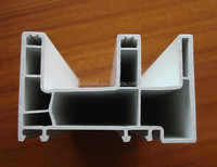 plastic pvc profile windows and doors/upvc window 88 series/t molding profile CH88TL-02 2.0mm thickness