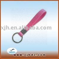 Promotion Gift Silicon Rubber Keychain/Keychain Strap/Keyring SK235