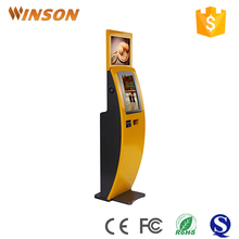 Lcd ipad type indoor application wall mounted floor stand digital signage kiosk for public place