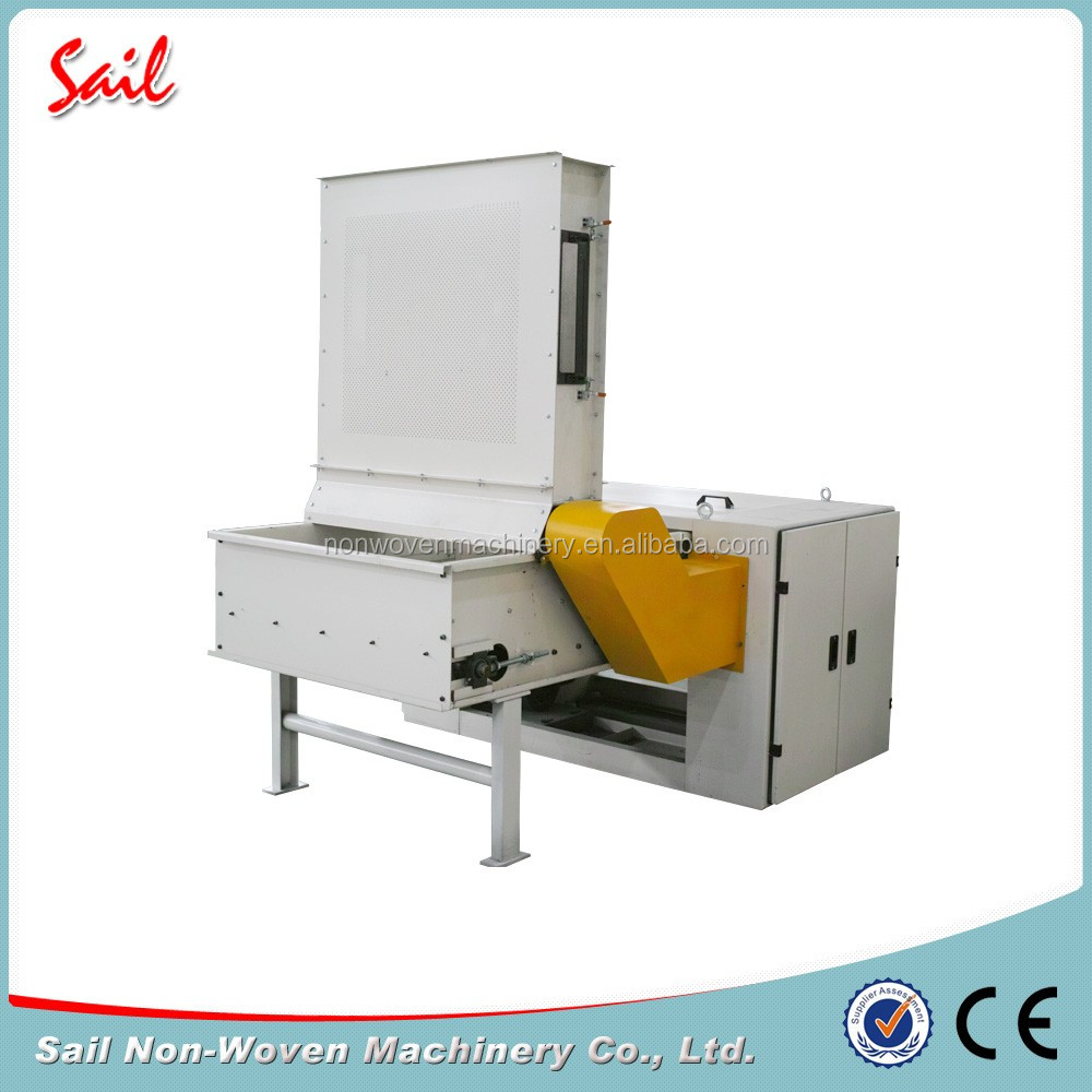 Nonwoven sea island cotton fiber opener sea island fiber opening machine