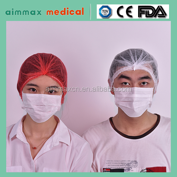certificate approved Hot selling nylon suture,disposable medical surgical caps,disposable bouffant surgical cap