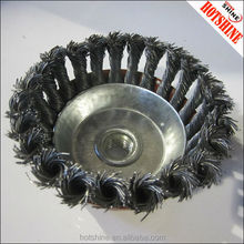 bowl-shaped wire brush