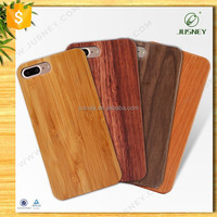 2017 Wholesale blank Transparent wood mobile phone case,for iphone 7/7 plus phone case wood with pc or tpu case