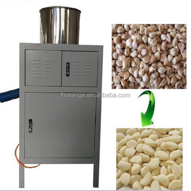 High efficiency pneumatic dry garlic skin peeling machine