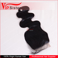 10A Top Quality Virgin Brazilian Human Hair Bundles Body Wave Lace Closure