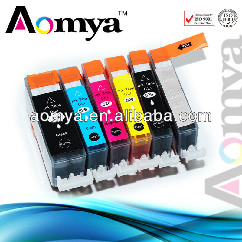 PGI-525 CLI-526 ink cartridge for ix6560