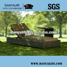 DYLG-D211B,Wicker Garden Patio Lounger,Rattan Outdoor Leisure Lounger Chair,Rattan Swimming Pool Lounger,Wicker Beach Chaise