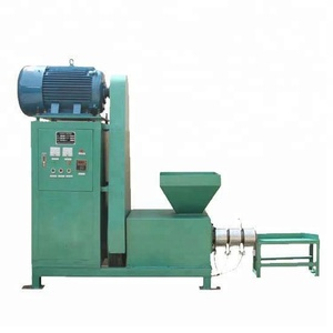 wood charcoal briquetting press machine briquettes charcoal making machinery