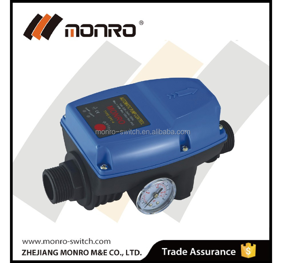 2015 Zhejiang Monro powerful electric pump switch blue color normal packing EPC-4