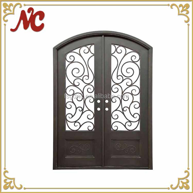 2017 NC Home Used Modern Design Wrought Iron Door