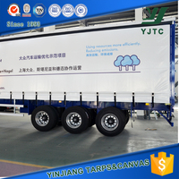 1000d pvc coated tarpaulin truck side curtains fabric