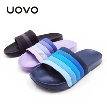 cheap plastic pvc upper flat beach eva woman slippers