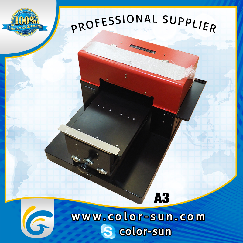 A3 size t shirt printer modified for epson r2000 with 8 for Epson t shirt printer