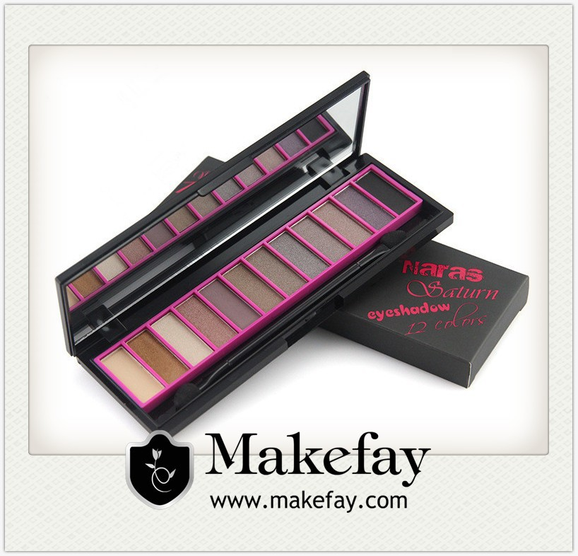 Wholesale New Hot Sale Brand Cosmetics Naked 12 Color Eye Shadow Palette Makeup