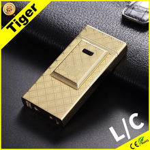 2017 Tiger 915-s-01 Top Sale Newest Double Arc Elecronic Charged Smart Lighter
