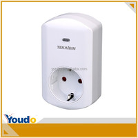 TZ67G/F/E, remote control socket with dimmer, wireless plug in