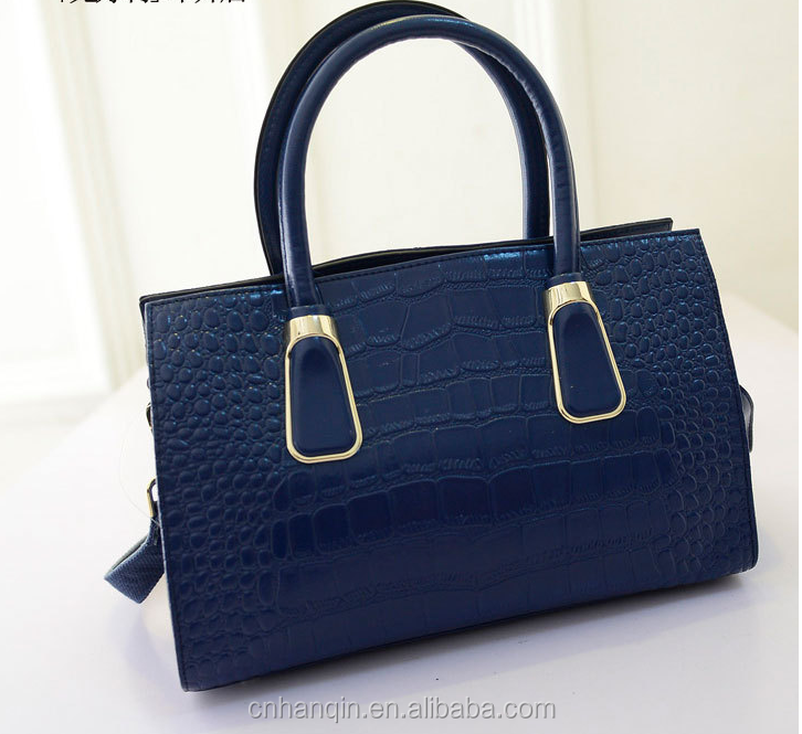 genuine crocodile leather handbag