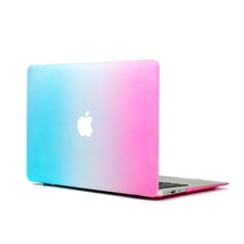 2016 Rainbow Matte Hard Case Cover For New Macbook pro air retina,Hard case for Macbook 11, 12, 13, 15, 17