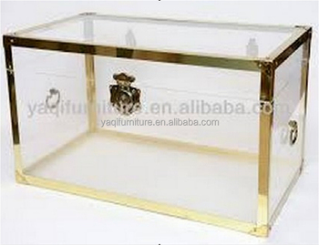 New design of clear acrylic file cabinet and display cabinet