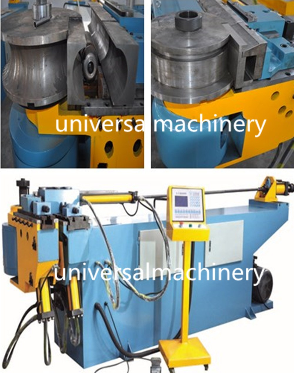 Good quality China Copper Wiper Die Pipe Bending Machine for pipe bending